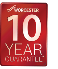 Worcester Boiler 10 year guarantee