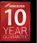 Worcester 10 year boiler guarantee